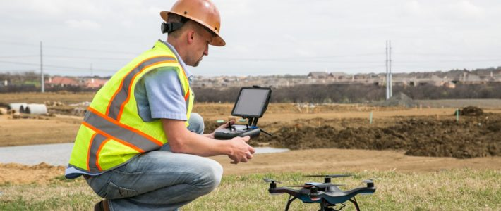 Training Survey Mapping using Drone