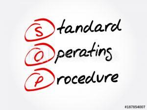 Designing Standard Operating Procedures (SOP)